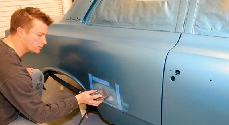 Подкраска ржавчины на автомобиле видео
